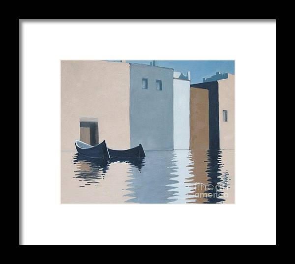 Holyday Framed Print featuring the painting Holyday At The Lago Maggiore by Ernst Dingemans