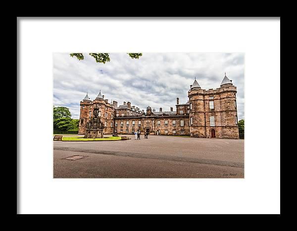 Edinburgh Framed Print featuring the photograph Holyrood Palace by Leon Roland
