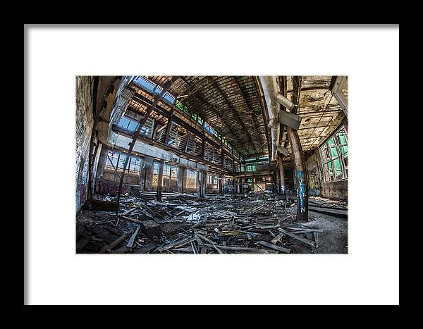 Hdr Framed Print featuring the photograph Home Sweet Home by Randy Scherkenbach