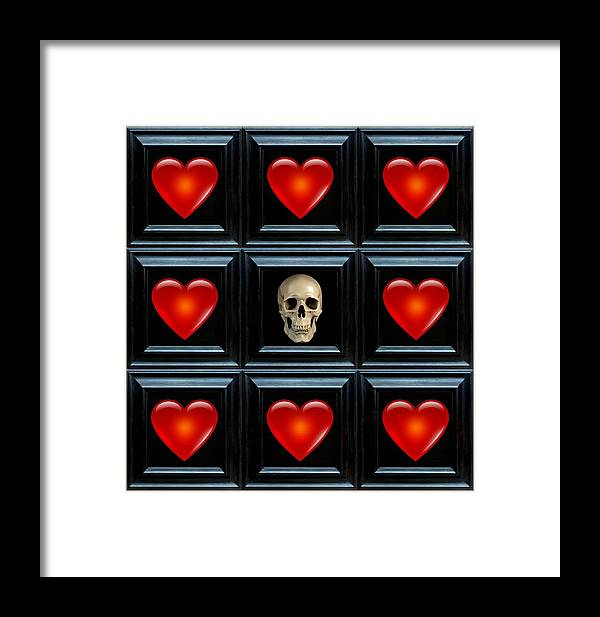 Heart Framed Print featuring the digital art Hope I by Lee Kendall