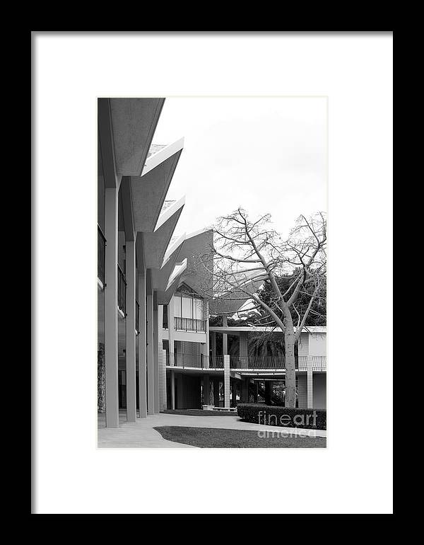 California Framed Print featuring the photograph Hope International University Center by University Icons