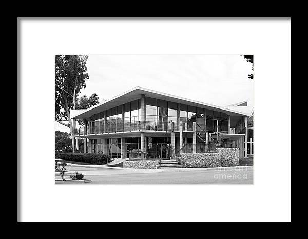 California Framed Print featuring the photograph Hope International University East Wing by University Icons