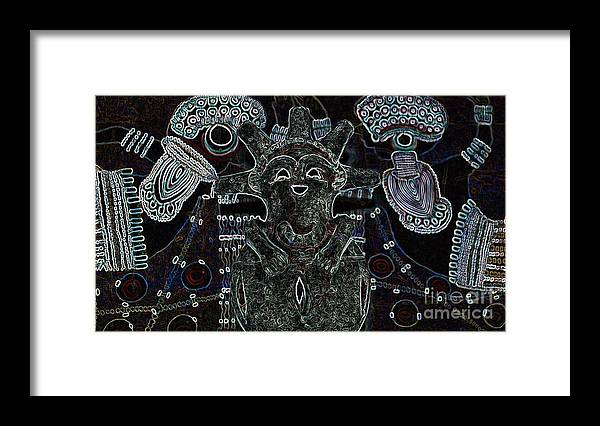 Tribal Framed Print featuring the photograph Hopi by Michelle S White