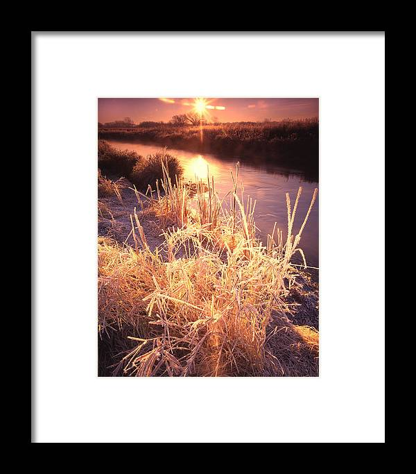 Sunset Framed Print featuring the photograph Hors Front Sunrise by Ray Mathis