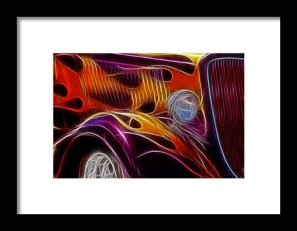 Hot Ford 2 Framed Print featuring the photograph Hot Ford 2 by Wes and Dotty Weber