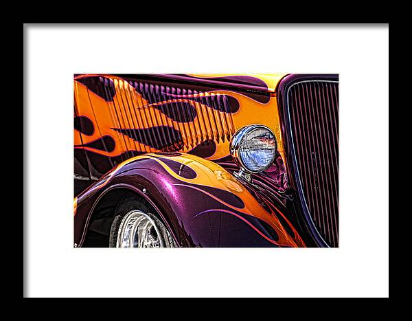 Hot Ford Framed Print featuring the photograph Hot Ford by Wes and Dotty Weber