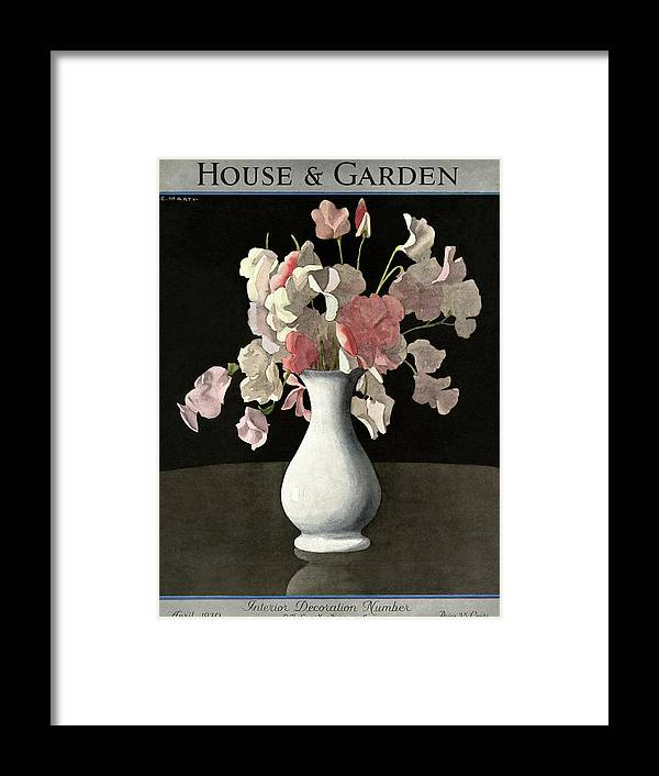 House And Garden Framed Print featuring the photograph House And Garden Interior Decoration Number by Andre E. Marty