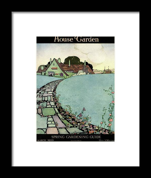 House And Garden Framed Print featuring the photograph House And Garden Spring Garden Guide by Harry Richardson