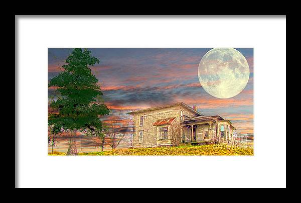 House Framed Print featuring the photograph House by Dipali S