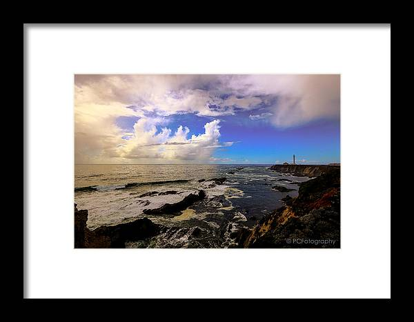 Lighthouse Framed Print featuring the photograph House Keeper by Preston Fiorletta
