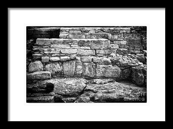 Ancient Cultures Framed Print featuring the photograph House Of Eustolios by John Rizzuto