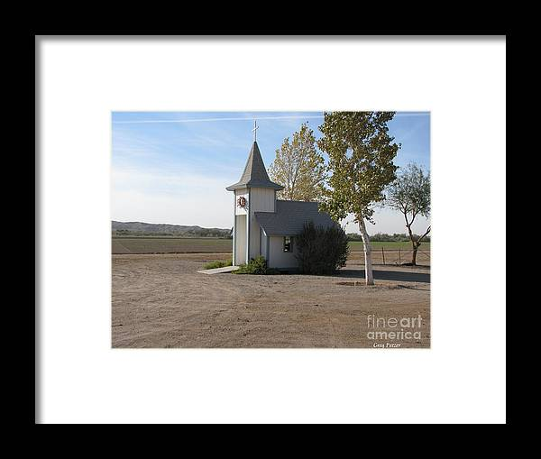 Patzer Framed Print featuring the photograph House Of The Lord by Greg Patzer