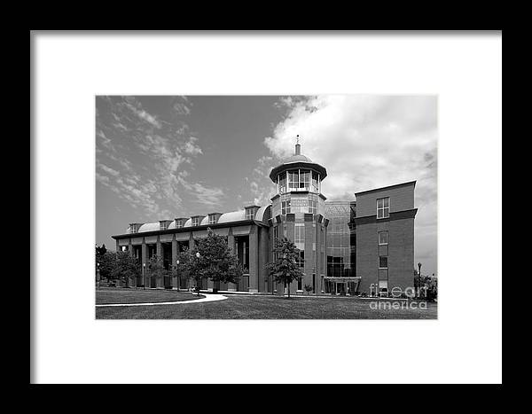 African-american Framed Print featuring the photograph Howard University Health Sciences Library by University Icons