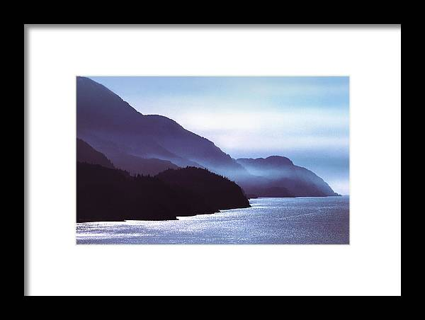 British Columbia Framed Print featuring the photograph Howe Sound by John Bartosik