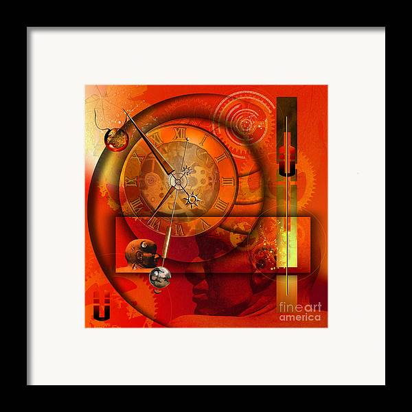 Highly Imaginative Framed Print featuring the digital art Human Loneliness by Franziskus Pfleghart