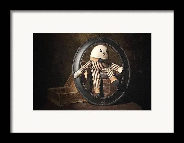 Humpty Dumpty Framed Print featuring the photograph Humpty Dumpty by Tom Mc Nemar