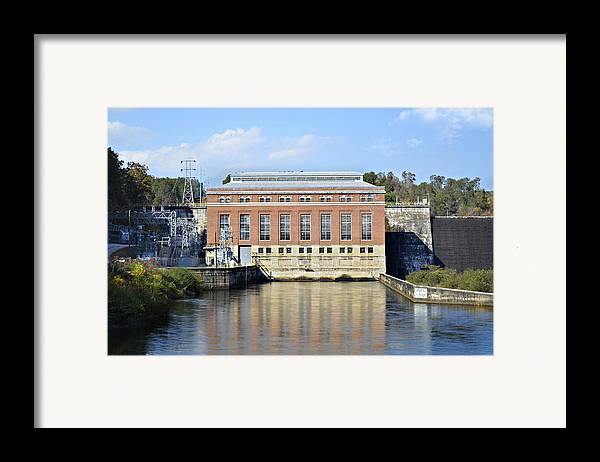 Framed Print featuring the photograph Hydroelectric Power by Susan Leggett