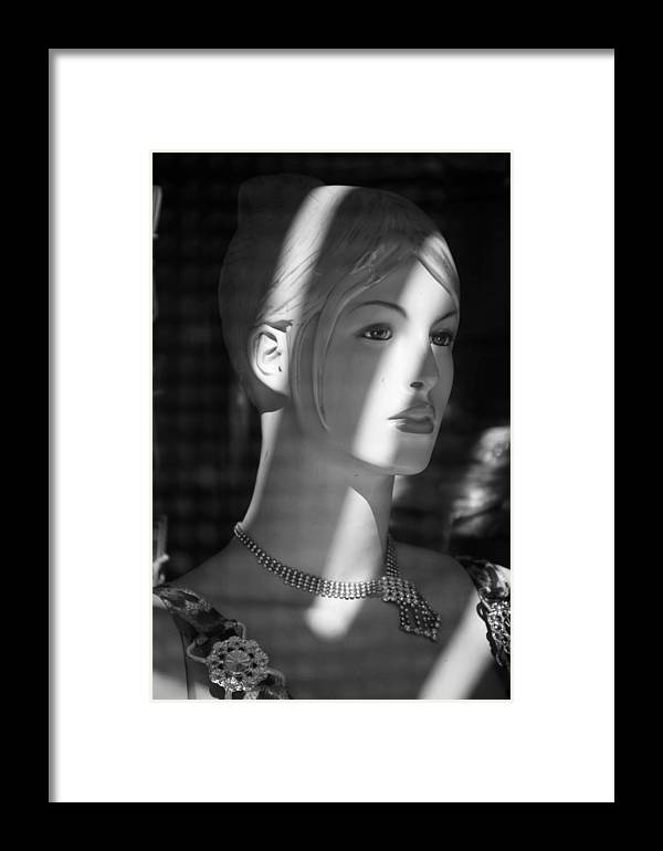 Jezcself Framed Print featuring the photograph I Do Think Back by Jez C Self