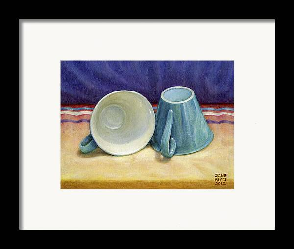 Occupy China Framed Print featuring the painting I Hear You by Jane Bucci