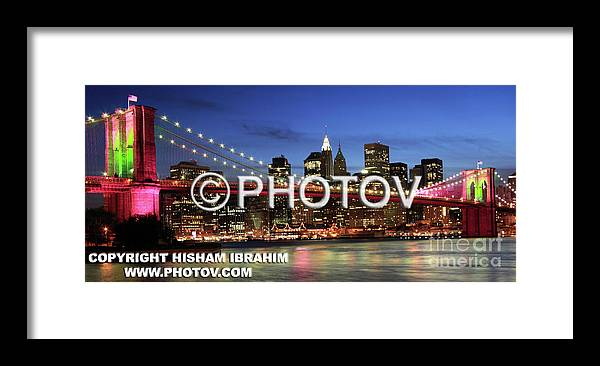 Usa Framed Print featuring the photograph I Love New York - Limited Edition by Hisham Ibrahim