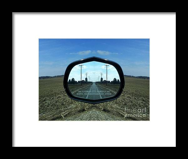 Field Framed Print featuring the photograph I-trail by Jon Glynn