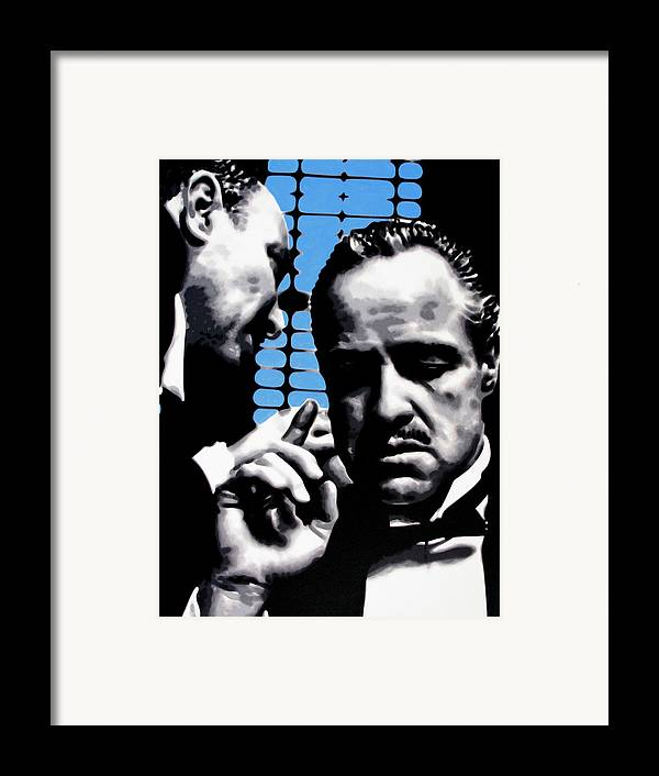 Ludzska Framed Print featuring the painting I Want You To Kill Him by Luis Ludzska