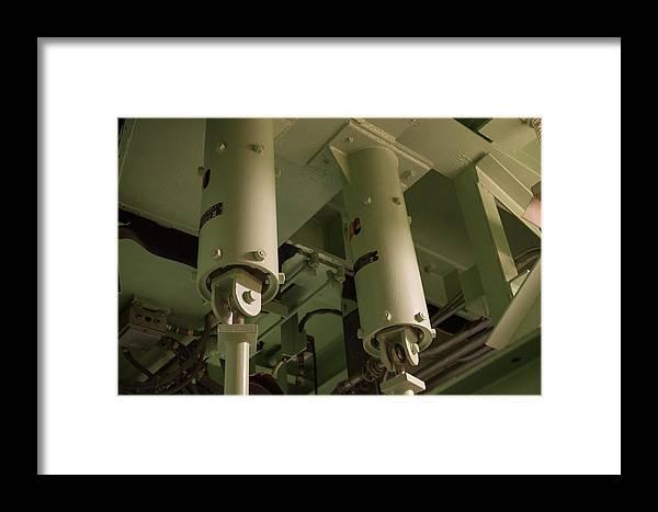 Icbm Framed Print featuring the photograph Missile Silo I by Carolina Liechtenstein