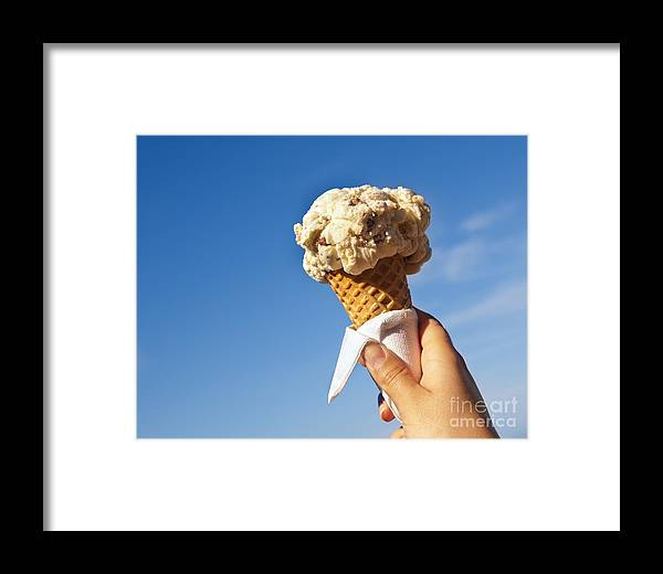 Australia Framed Print featuring the photograph Ice Cream Cone by Tim Hester