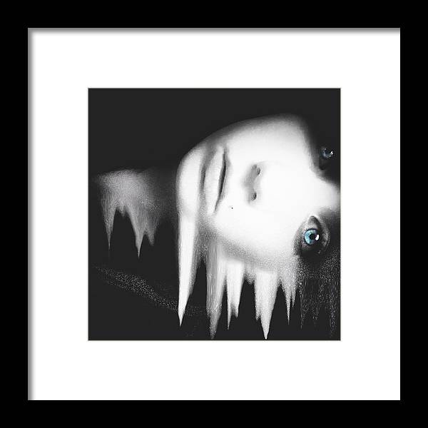 Portrait Framed Print featuring the photograph Ice Queen by Jason Rose