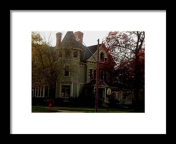 Victorian Home Framed Print featuring the photograph If I Could by Wild Thing