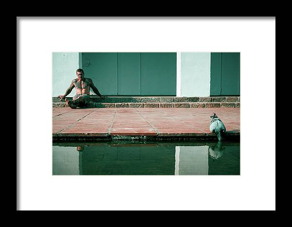 Street Framed Print featuring the photograph If You Are Thirsty, The Universe Was Thirsting by Ignasi Raventos