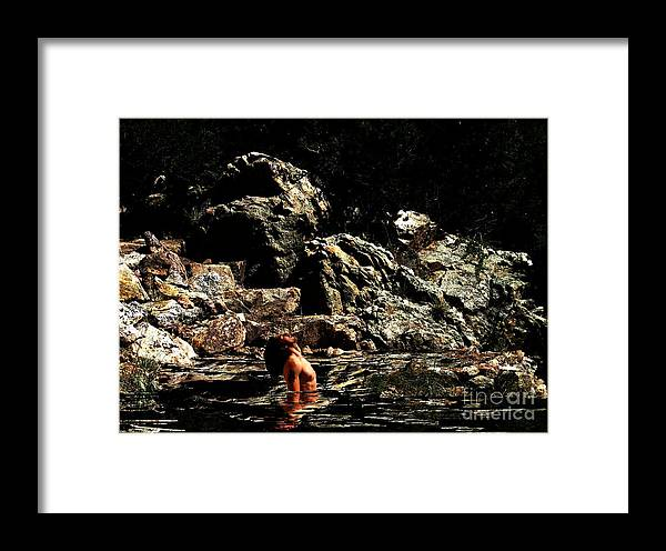 Fitness Framed Print featuring the digital art If You Close Your Eyes by Sunset Road Fitness Photography
