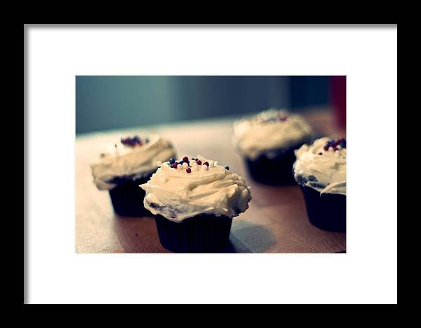 Cake Framed Print featuring the photograph If You Insist by Nick Barkworth