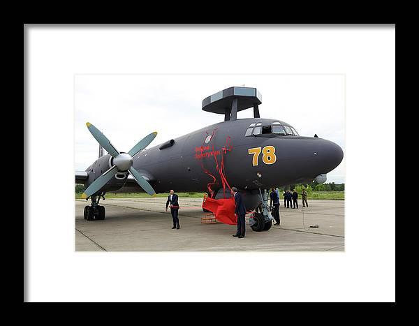 Il-38n Novella Anti-ship Airplane Framed Print by Artyom Anikeev