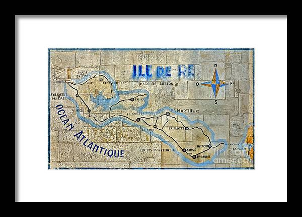 Ile Framed Print featuring the photograph Ile De Re by Olivier Le Queinec
