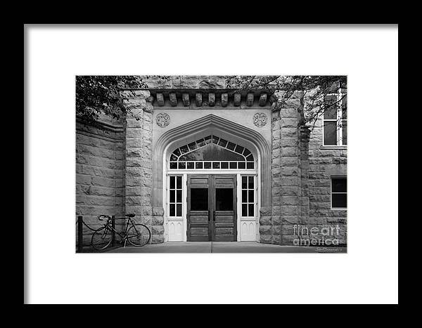 Altgeld Framed Print featuring the photograph Illinois State University Cook Hall by University Icons