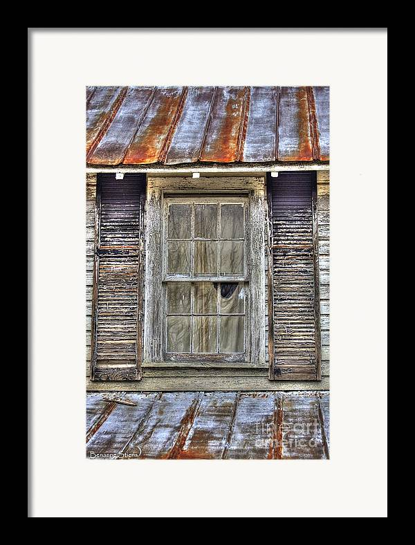 Rusted Tin Roof Framed Print featuring the photograph I'm Watching You by Benanne Stiens