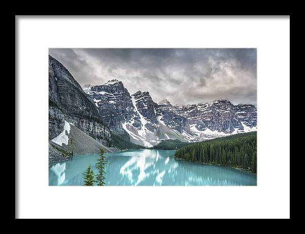 Horizontal Framed Print featuring the photograph Imaginary Waters by Jon Glaser