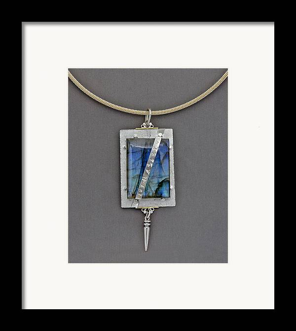 Jewelry Framed Print featuring the jewelry Imagine by Mirinda Kossoff