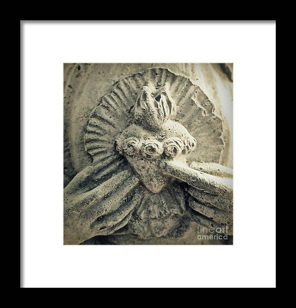 Mary Framed Print featuring the photograph Immaculate Heart Of Mary by Patricia Januszkiewicz