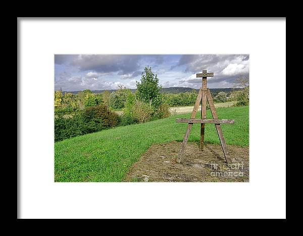 France Framed Print featuring the photograph Impressionist Ready by Olivier Le Queinec