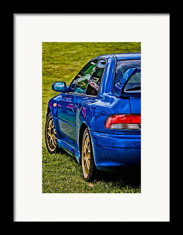 Subaru Impreza Framed Print featuring the photograph Impreza 22b by Phil 'motography' Clark