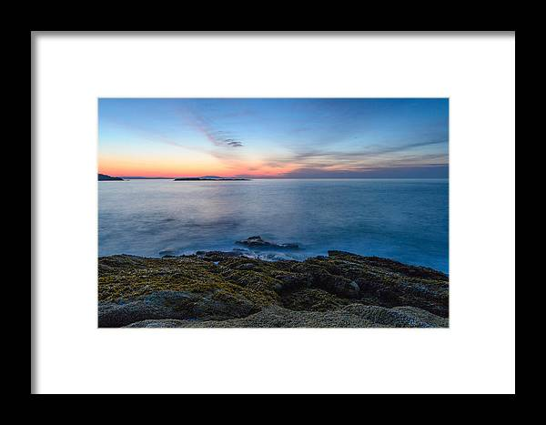 Landscape Framed Print featuring the photograph In Breath by John Munno