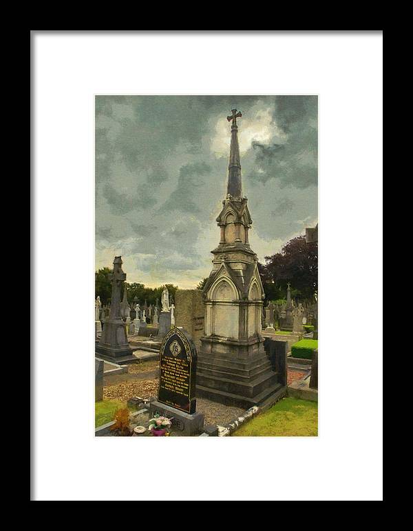 Dublin Framed Print featuring the painting In Loving Memory by Jeffrey Kolker