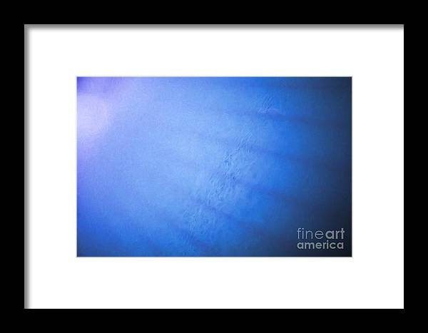 Blue Framed Print featuring the photograph In The Blue by Roberto Giobbi