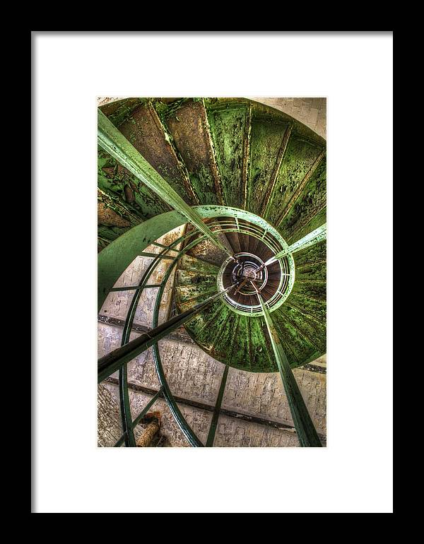 Ubex Framed Print featuring the digital art In The Eye Of The Spiral by Nathan Wright