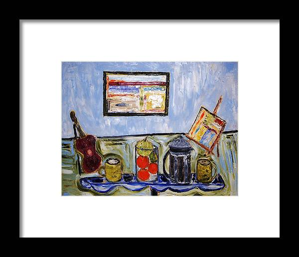 Fruit Framed Print featuring the painting In The Morning by Ian Fruehauf