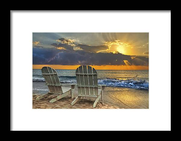 Zen Framed Print featuring the photograph In The Spotlight by Debra and Dave Vanderlaan