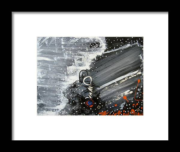 Light Framed Print featuring the painting In To The Light by Kristin Silvaggio