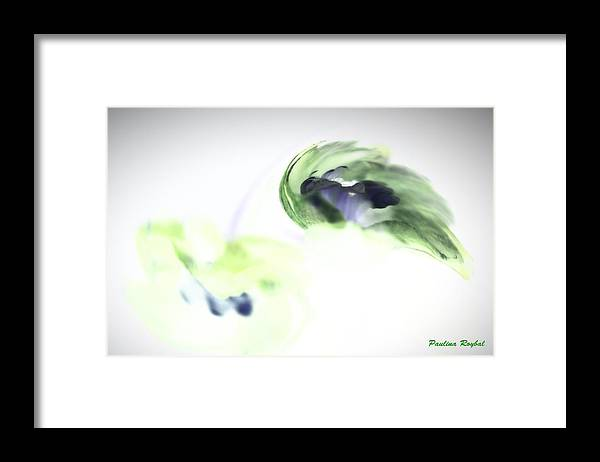 Abstract Phototgraphy Framed Print featuring the photograph Incana abstract 2 by Paulina Roybal